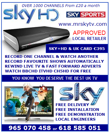 MRSKYTV HOMEPAGE - THE No1 SKY TV INSTALLERS IN SPAIN