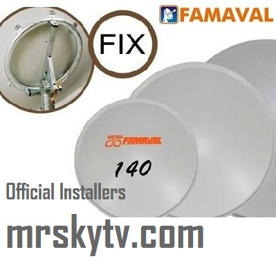 FAMAVAL BIG SATELLITE DISH INSTALLERS IN SPAIN