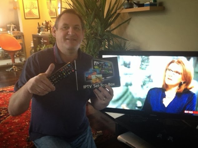 HAPPY CLIENT WITH UK IPTV BOX MAG250 MAG254 UK IPTV BOX FOR WATCHING BRITISH TELEVISION ANYWHERE IN THE WORLD