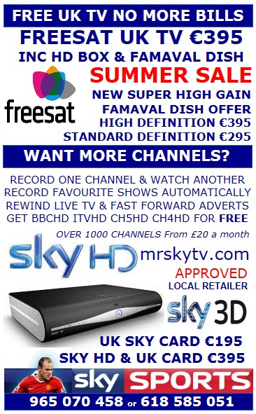SKY TV NEWS IN SPAIN