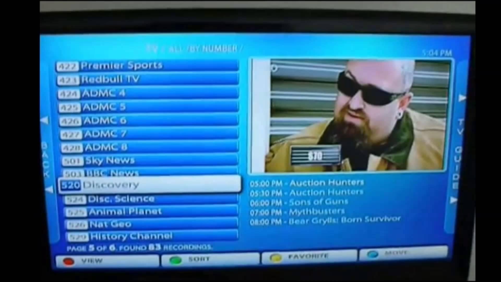 Watch UKTV in Dubai - United arab Emirates