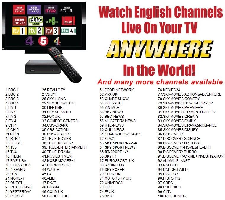 DUBAI WATCH YOUR SKY TV FREESAT UK BRITISH TV IN DUBAI UNITED ARAB