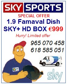 FORMULA ONE GRAND PRIX F1 in SKY HD AND SKY 3D - SKY TV BOXES - SKY TV CARDS - SPAIN