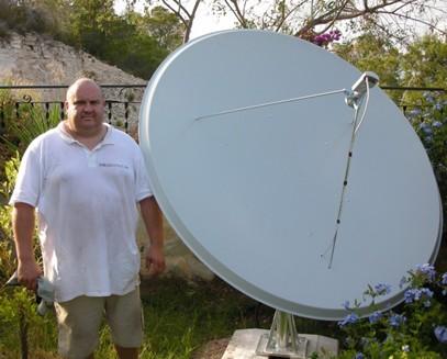 Как создать спутниковою тарелку