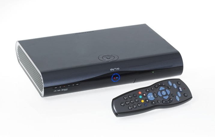 sky hd spain 250gb sky high definition box