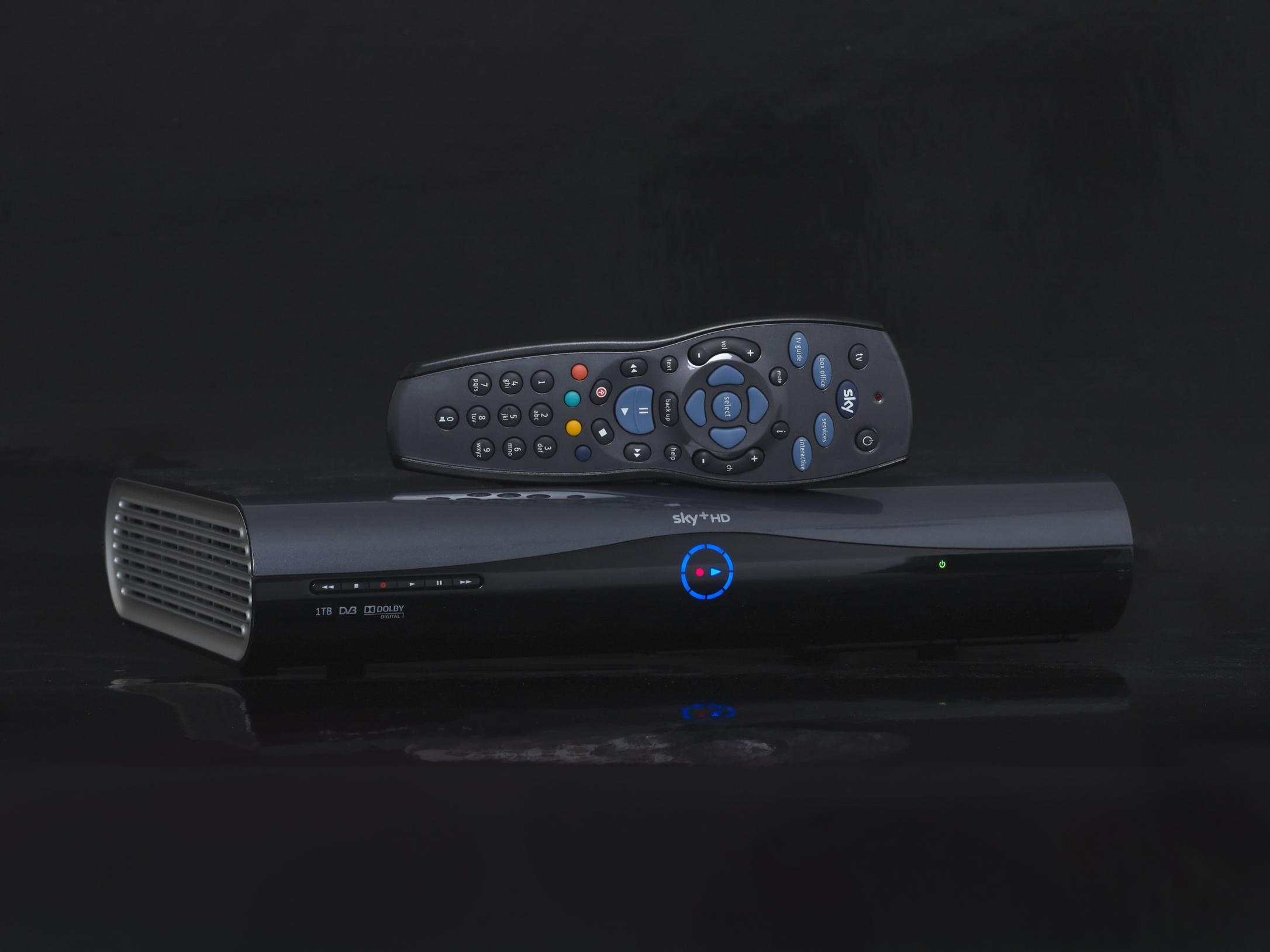 SKY HD 3D ready 1000GB 1TB sky box